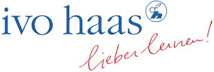 Logo ivo haas, lieber lernen